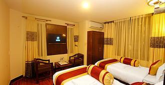 布达酒店 - 加德满都 - 睡房
