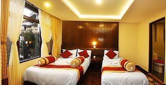 菩萨酒店 - 加德满都 - 睡房
