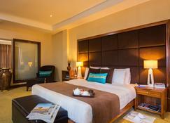 城市之藍城市飯店 - 基加利 - 睡房