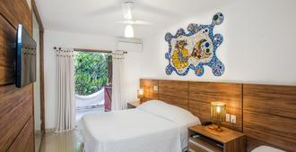 奥古姆马里尼奥旅馆 - 普拉亚多 - 睡房
