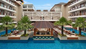 财富套房酒店 - 库塔 - 游泳池