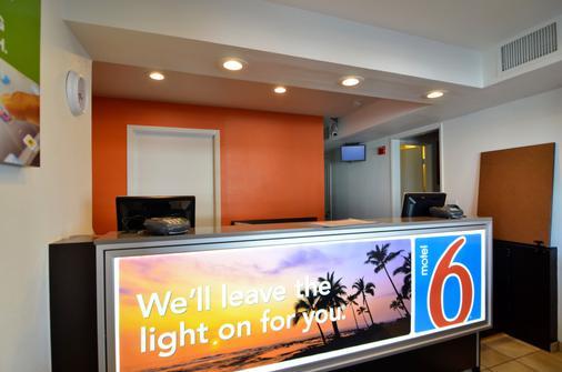 棕榈泉北6号汽车旅馆 - 棕榈泉 - 柜台