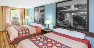 多森温德姆速 8 酒店 - 多森 - 睡房