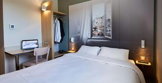 翁弗勒尔住宿加早餐旅馆 - 翁弗勒尔 - 睡房