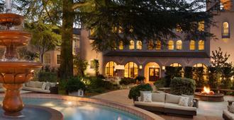 费尔蒙索诺马米西翁 SPA 旅馆 - 索诺玛 - 游泳池