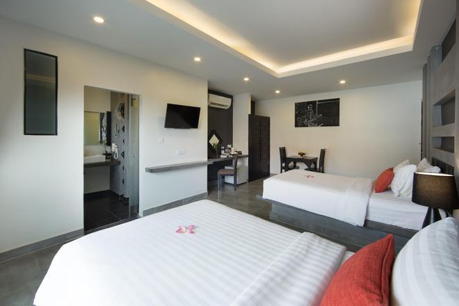 中心套房公寓 - 暹粒 - 睡房