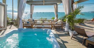 索豪斯宾馆 - 弗洛里亚诺波利斯 - 游泳池