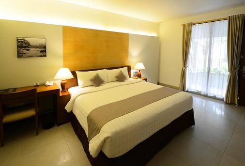 新绿翡翠仙图市酒店 - 茂物 - 睡房