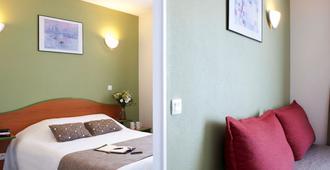 波尔多罗德萨阿德吉奥公寓式酒店 - 波尔多 - 睡房