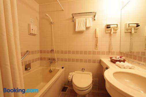 札幌中岛公园瑞索尔酒店 - 札幌 - 浴室