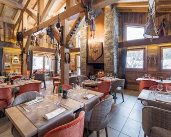 莱斯洛斯布兰斯公寓式酒店 - 默热沃 - 餐馆