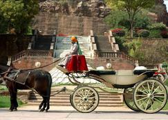 威尔康姆传统巴尔萨曼得湖宫酒店 - 焦特布尔 - 睡房