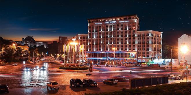 第聂伯河酒店 - 基辅 - 建筑