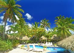 拉若俱乐部度假酒店 - 拉罗汤加岛 - 游泳池