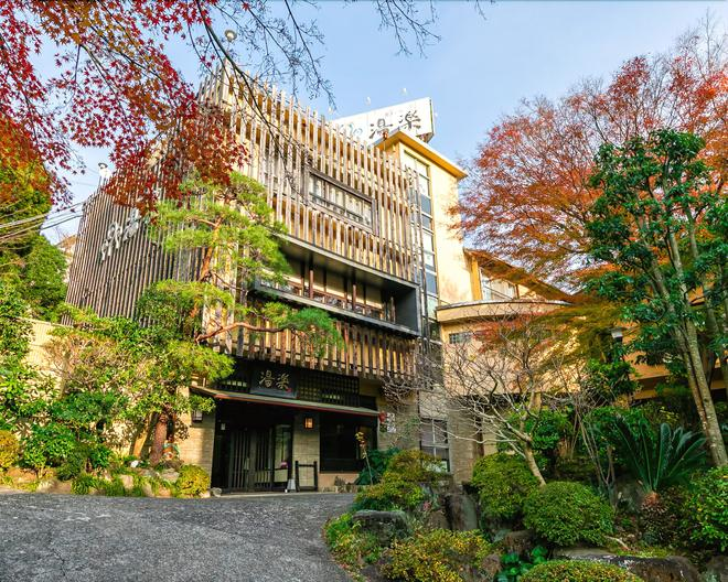 奥贝尔杰尤乐库日式旅馆 - 汤河原町 - 建筑