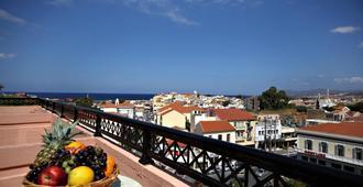 阿卡迪酒店 - 哈尼亚 - 阳台