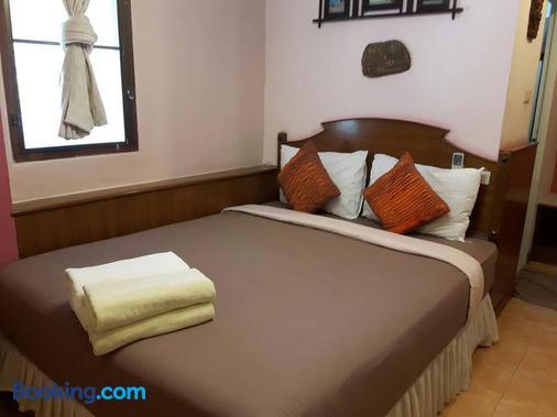 沙拉海滩度假酒店 - 帕岸岛 - 睡房