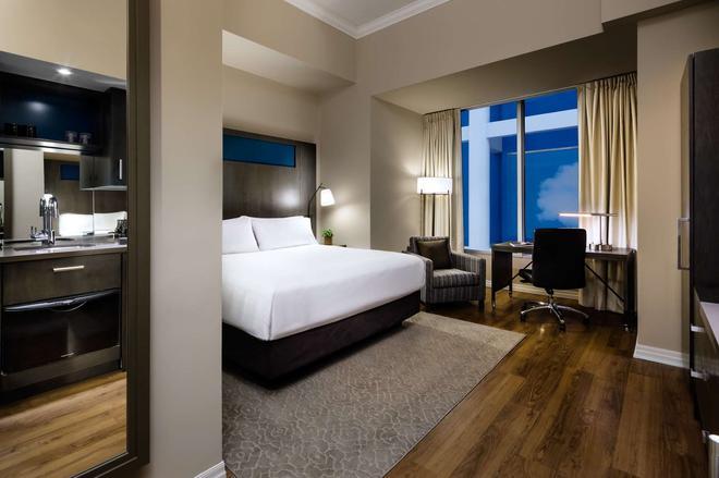 西一景及公寓酒店 - 多伦多 - 睡房