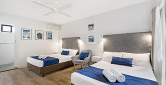 海滩别墅汽车旅馆 - 汤斯维尔 - 睡房