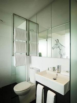 墨尔本艺术系列卡伦酒店 - 墨尔本 - 浴室