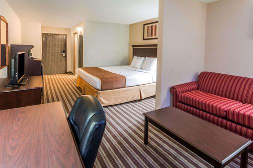 温哥华戴斯套房酒店 - 温哥华 - 睡房