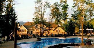 卡普特雷布伦特山地度假村 - 蒙特朗布朗 - 游泳池