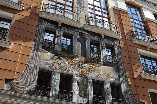 诺比利斯酒店 - 利沃夫 - 建筑