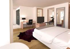 紫罗兰酒店 - 采尔马特 - 睡房