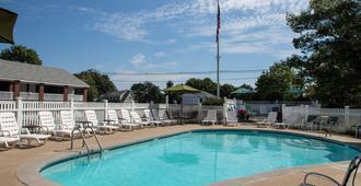 海景汽车旅馆 - 奥甘奎特 - 游泳池