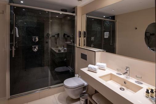 梅耶广场加泰罗尼亚酒店 - 马德里 - 浴室