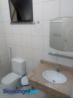 沙滩与海洋酒店 - 阿拉卡茹 - 浴室