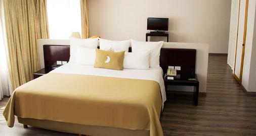 莫雷利亚格兰贝斯特韦斯特plus酒店 - 莫雷利亚 - 睡房
