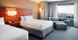 印第安纳波利斯市区庭院酒店 - 印第安纳波利斯 - 睡房