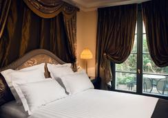 巴黎雅典娜酒店 - 巴黎 - 睡房