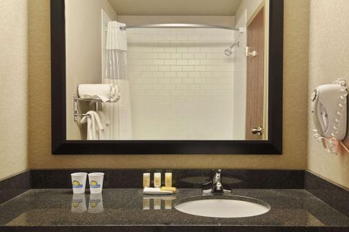 里贾纳西部戴斯机场酒店 - 雷吉纳 - 浴室