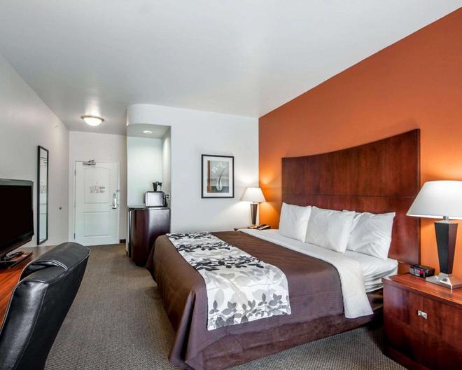 安眠套房酒店-罗顿 - 劳顿 - 睡房