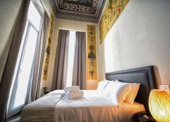 帕拉佐瓦诺尼酒店 - 莱万托 - 睡房