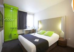 钟楼里昂中央酒店 - 里昂 - 睡房