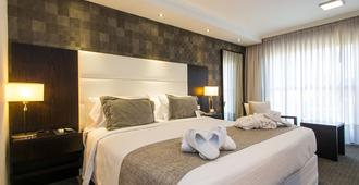 蒙得维的亚阿芙特酒店 - 蒙得维的亚 - 睡房