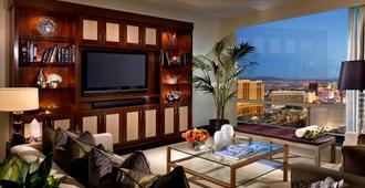 拉斯维加斯特朗普国际酒店 - 拉斯维加斯 - 客厅