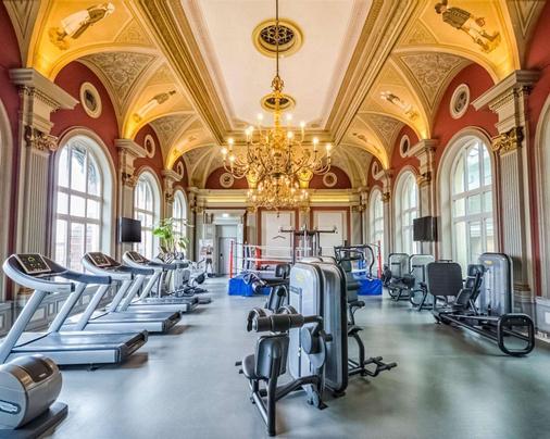 舒适酒店-马尔摩 - 马尔默 - 健身房