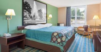 哈里斯堡赫尔希镇西温德姆速 8 酒店 - 哈里斯堡 - 睡房