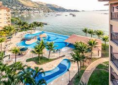 安格拉杜斯雷斯美居酒店 - 安格拉-杜斯雷斯 - 游泳池