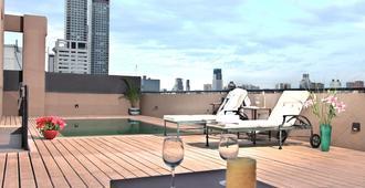 比好莱坞酒店 - 布宜诺斯艾利斯 - 阳台