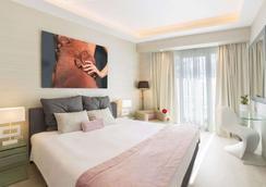 圣乔治利卡维多斯酒店 - 雅典 - 睡房
