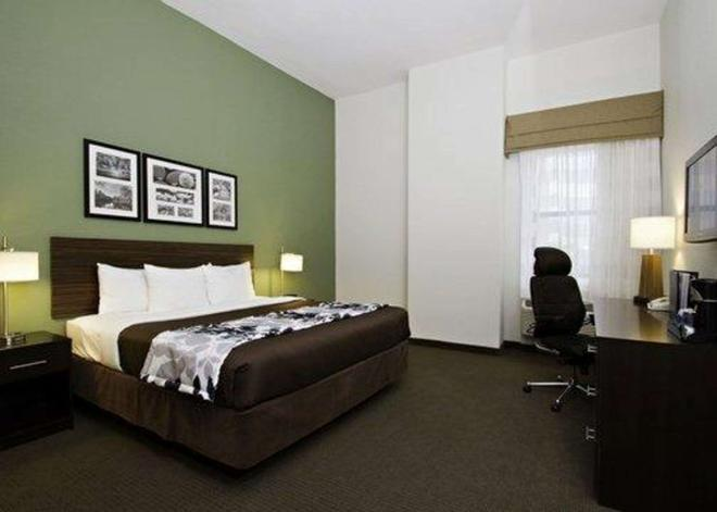 市区内港舒眠套房酒店 - 巴尔的摩 - 睡房