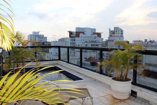 贝拉辛特拉全美行政酒店 - 圣保罗 - 阳台
