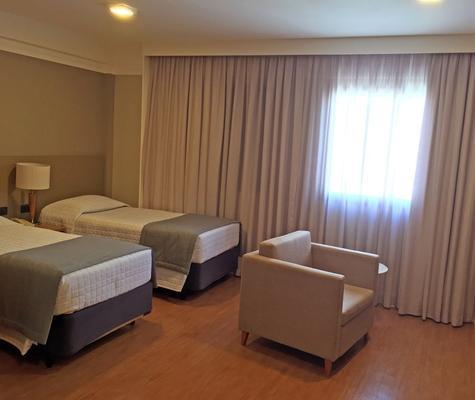 贝拉辛特拉全美行政酒店 - 圣保罗 - 睡房