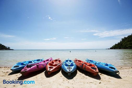 沙拉海滩度假酒店 - 帕岸岛 - 海滩