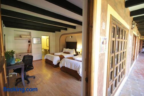 卡萨梅克西卡那酒店 - 圣克里斯托瓦尔-德拉斯卡萨斯 - 睡房